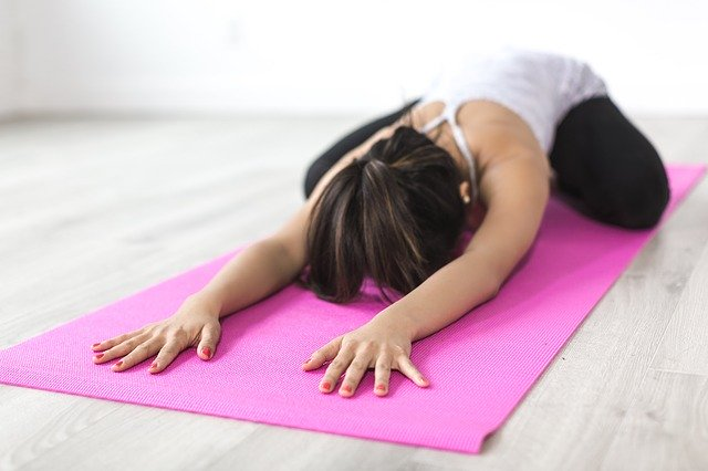 Yoga Stretches of different types